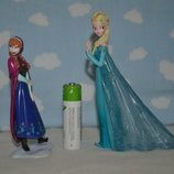 Фирменный набор фигурок фигурки Принцессы Дисней Disney Эльза и Анна Frozen фрозен холодное сердце