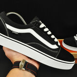 Кеды мужские Vans Old Skool черные с белым