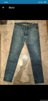 Мужские джинсы большого размера Replay, оригинал