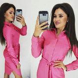 Женское платье-рубашка Тоскана | Распродажа модель рубашечного кроя арт.851 скл.10