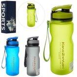 Бутылка для воды спортивная Sports 2916-3 3 цвета, объем 600мл