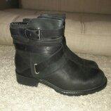 Ботинки кожаные clarks 38.5-39 размер