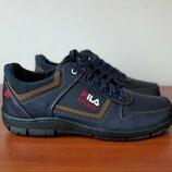 Мужские туфли спортивные синие