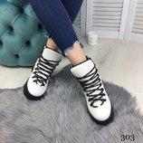 Ботинки демисезон с шнуровкой