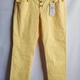 Стрейчевые штаны брюки slim fit от французского бренда Kiabi, оригинал Франция сток