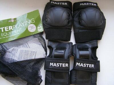 Master набор защиты для роликов. Размер М