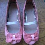 Стильные лаковые туфли 33р 21см