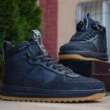 Кроссовки мужские Nike Lunar Force 1 Duckboot черные