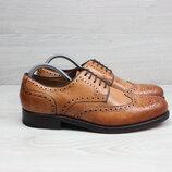Кожаные мужские туфли броги Gordon & Bros, размер 42