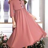 Платье креп дайвинг 42-44,44-46