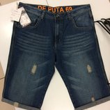 Джинсовые шорты испанского бренда De Puta Madre 69 1871