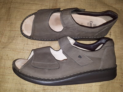 46р-30.5 кожа анатомическая стельк сандали Finn Comfort Germany если присмотреться, то видно что пар