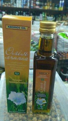 Льняное масло 200мл нерафинированное 200мл Льняное масло - традиционный полезный славянский п