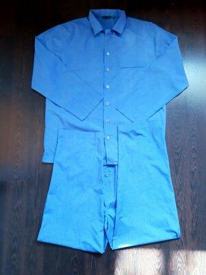 Размер L Красивая фирменная тоненькая мужская пижама домашний костюм