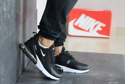 кроссовки Nike Air Max 270 мужские, черные, найк