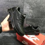 кроссовки Nike Air Max 90 мужские, черные, найк
