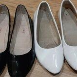 Туфли школьные балетки