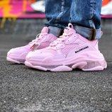 Кроссовки женские Balensiaga Pink
