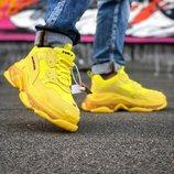 Кроссовки Balensiaga Triple S Yellow