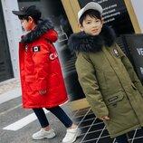 Модные зимние курточки на мальчиков от 120 до 170см