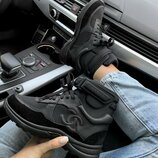 Кроссовки женские Chanel Sneakers Hight Black