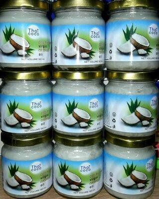 Кокосовое масло холодного отжима из кокосового молока Кокосовое масло используется для приготовлени