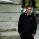 Мужская куртка Анорак Дельта черный