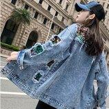 Новиночки Классная куртка джинсовка, размеры 42- 46