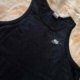 Майка фирменная чёрная Nike р.46-48 М