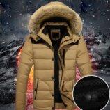 Мужская Зимняя куртка парка 3 цвета