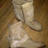 Шкіряні черевички di marzio 40р