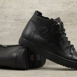 Мужские кожаные ботинки 162 чл чл