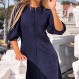 Теплое шерстяное ангоровое платье ткань ангора арктик все размеры скл.1 арт.58617