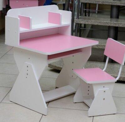 Парта растишка. Стол и стул. Школьная парта.