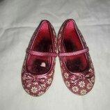 Балетки туфельки розовые размер 21 или 5
