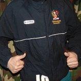 Спортивная фирменная футбольная курточка мастерка кофта курточка. Errea эрреа . хл-2хл