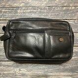 Кожаная сумка барсетка Натуральная кожа