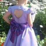 Нарядное детское платье выпускное пышное