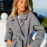 Красивое пальто «Жасмин» 42 - 48 две расцветки