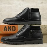 Мужские кожаные ботинки And 123