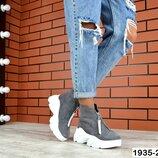 Демисезонные ботиночки в стиле Balenciaga