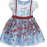 Дороти Страна Оз 7-8 лет платье карнавальное Алиса