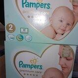 Подгузники памперсы Pampers premium care премиум кеа памперс