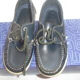 Фирменные dunnes stories кожаные туфли мокасины 32 размер отличные