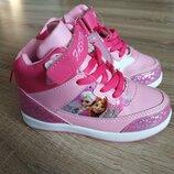 Хайтопы, кроссовки, ботиночки Frozen 32-36р. 3 цвета Кожаная стелька с супинатором