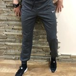 Треники Nike graphite, спортивные штаны темно-серые