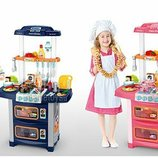 Кухня детская WD-R38 WD-P38 размеры 54-86-32см, с водой