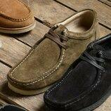Туфли Wallabee, разных цветов