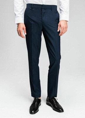 Поливискозные брюки в микроструктуру размер c-м