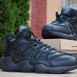 Зимние кроссовки Adidas Equipment FYW S-97 черные